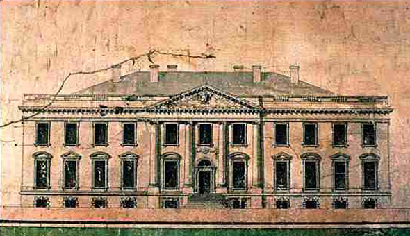 1794 – Design for Executive Mansion, Washington DC