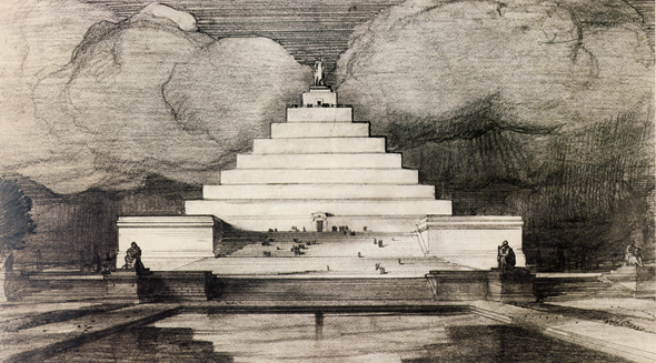 1912 &#8211; Lincoln Memorial Proposal, Washington DC