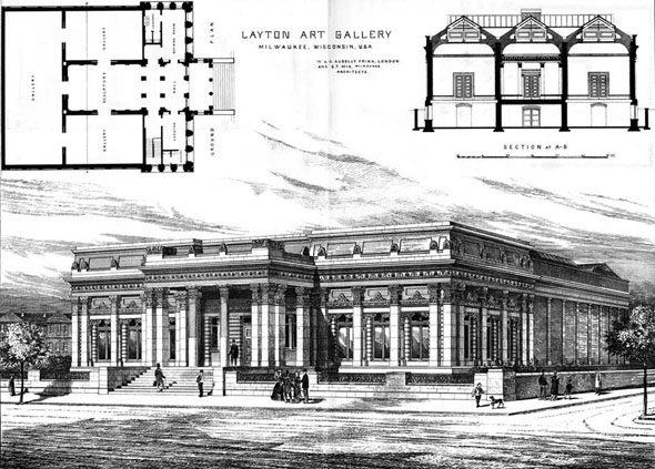 1885 – Layton Art Gallery, Milwaukee, Wisconsin