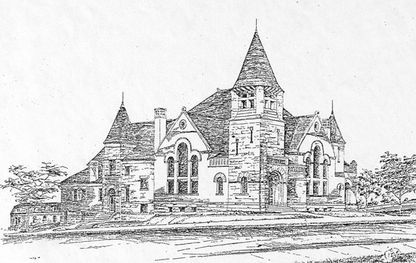 1887 &#8211; First Congregational Church, Appleton, Wisconsin
